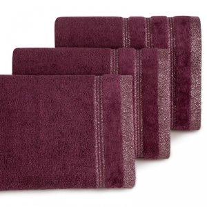 Ręcznik GLORY 70X140 Bordowy