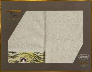 Eva Minge Komplet Ręczników CECIL 50x90 Beżowy Eurofirany