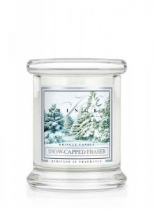 Kringle Candle - Snow Capped Fraser - mini, klasyczny słoik (128g)