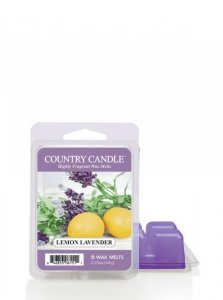 Country Candle - Lemon Lavender - Wosk zapachowy potpourri (64g)