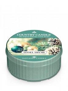 Country Candle - Tinsel Thyme - Świeczka zapachowa - Daylight (35g)
