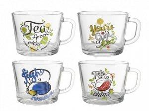 KUBEK JUMBO 450ML CUP OF TEA  PCB12 MIX DEKORACJI