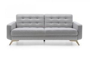 Sofa z funkcją spania 3F - FIORD - Szara