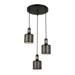 Lampa Restenza - PND-2439-3-BK - Italux