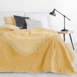 Narzuta CATHY Design 91 220X240 Żółta