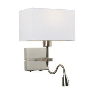 Lampa Norte - WL-1122-2-BL-SN-RC-WH - Italux