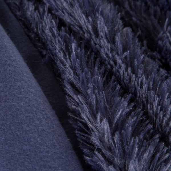 Narzuta Włochacz LETTIE 170X210 Granatowy Eurofirany