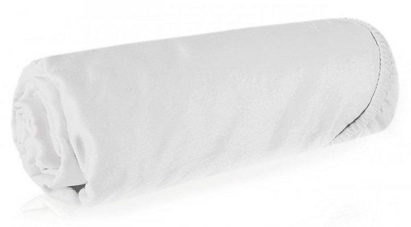 Prześcieradło NOVA3 140X200 z gumką Białe Eurofirany