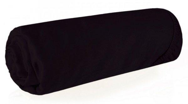 Prześcieradło NOVA3 180X200 z gumką Czarne Eurofirany