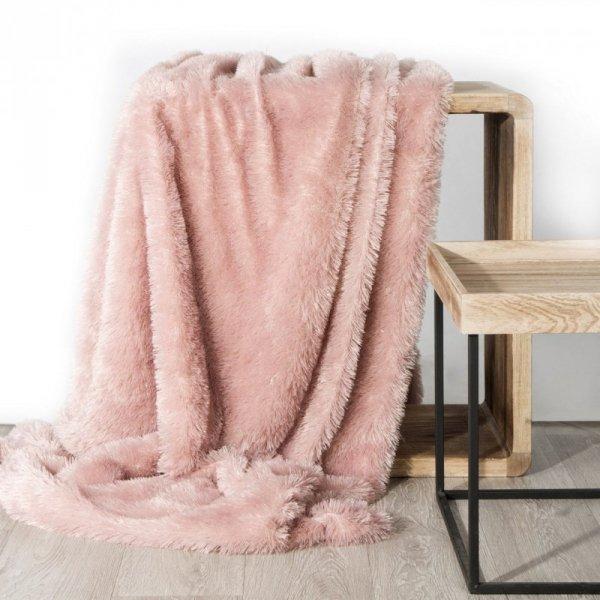 Koc TIFFANY   170X210 Różowy Design 91