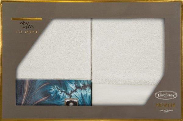 Eva Minge Komplet Ręczników CHIARA 70x140 Kremowy Eurofirany
