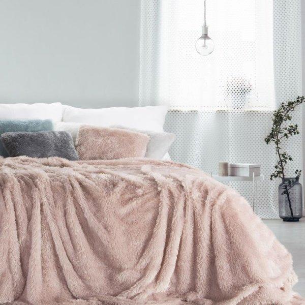 Koc TIFFANY 200X220 Różowy Design 91