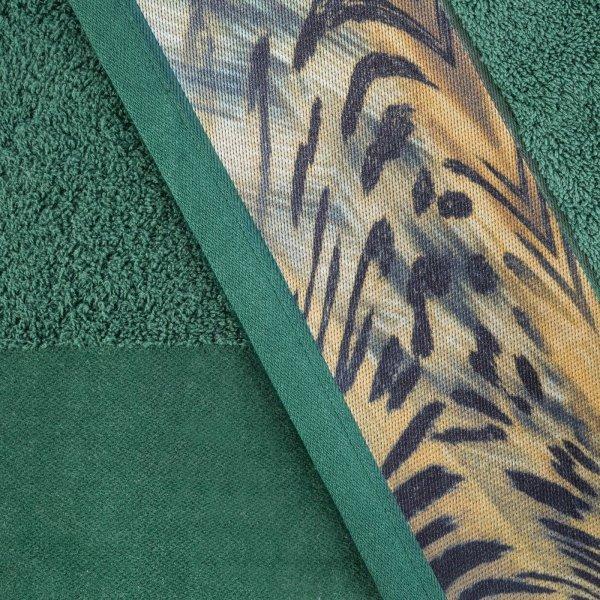 Eva Minge Komplet Ręczników COLLIN 50x90 Ciemny Zielony Eurofirany