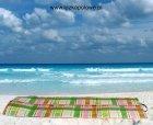 Mata plażowa składana kolorowa- 180x50