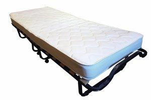 Łóżko składane,  hotelowe LUXOR Premium  200 x 80 materac 13 cm pokrowiec gratis