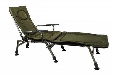 Fotel wędkarski CARP f-5r z podnóżkiem wytrzymałość 120kg sklep W-wa