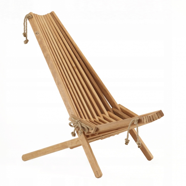 Fotel drewniany EcoFurn EcoChair Olcha Brązowy