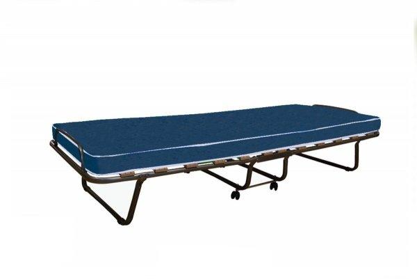 Łóżko składane ROMA z materacem 7 cm