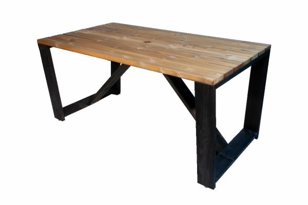 Zestaw ogrodowy drewniany Jussi stół + 4 ławki