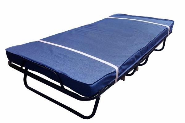 łóżko polowe z kpl pasów