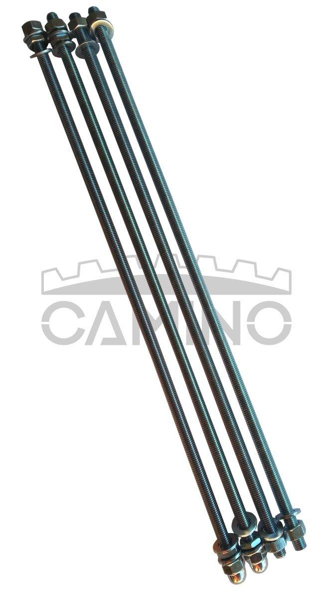 KWD Camino 3 - kompletny zestaw śrub ściągowych do kotła 4-członowego