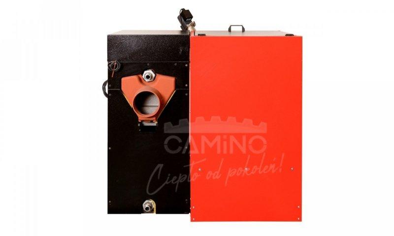 Camino 4 żeliwny kocioł na pellet z podajnikiem o mocy 20 KW EcoMax 920 simTOUCH ST4 Seperate