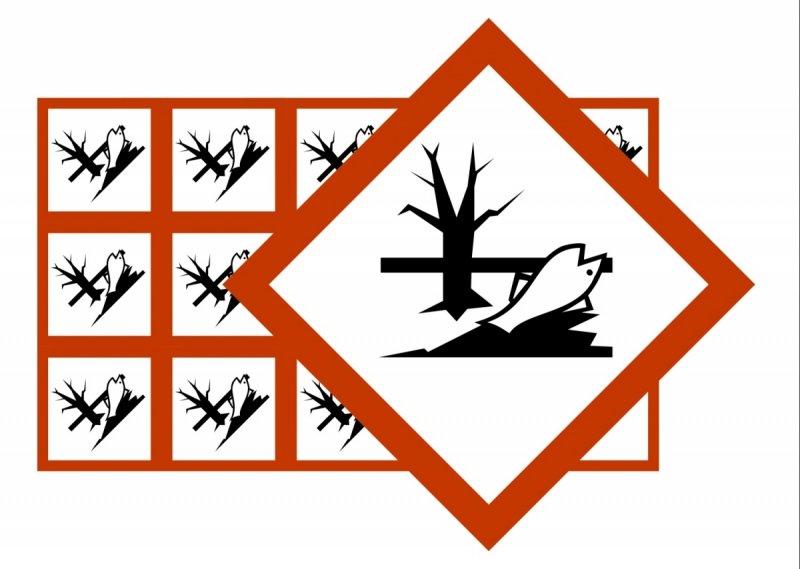 Naklejki BHP GHS09 Substancje wybuchowe