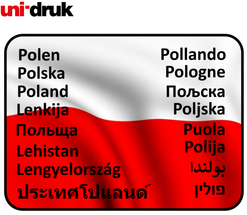 Naklejka POLSKA