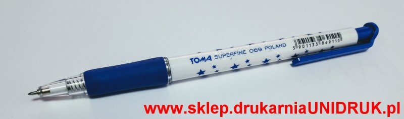 Długopis niebieski Toma