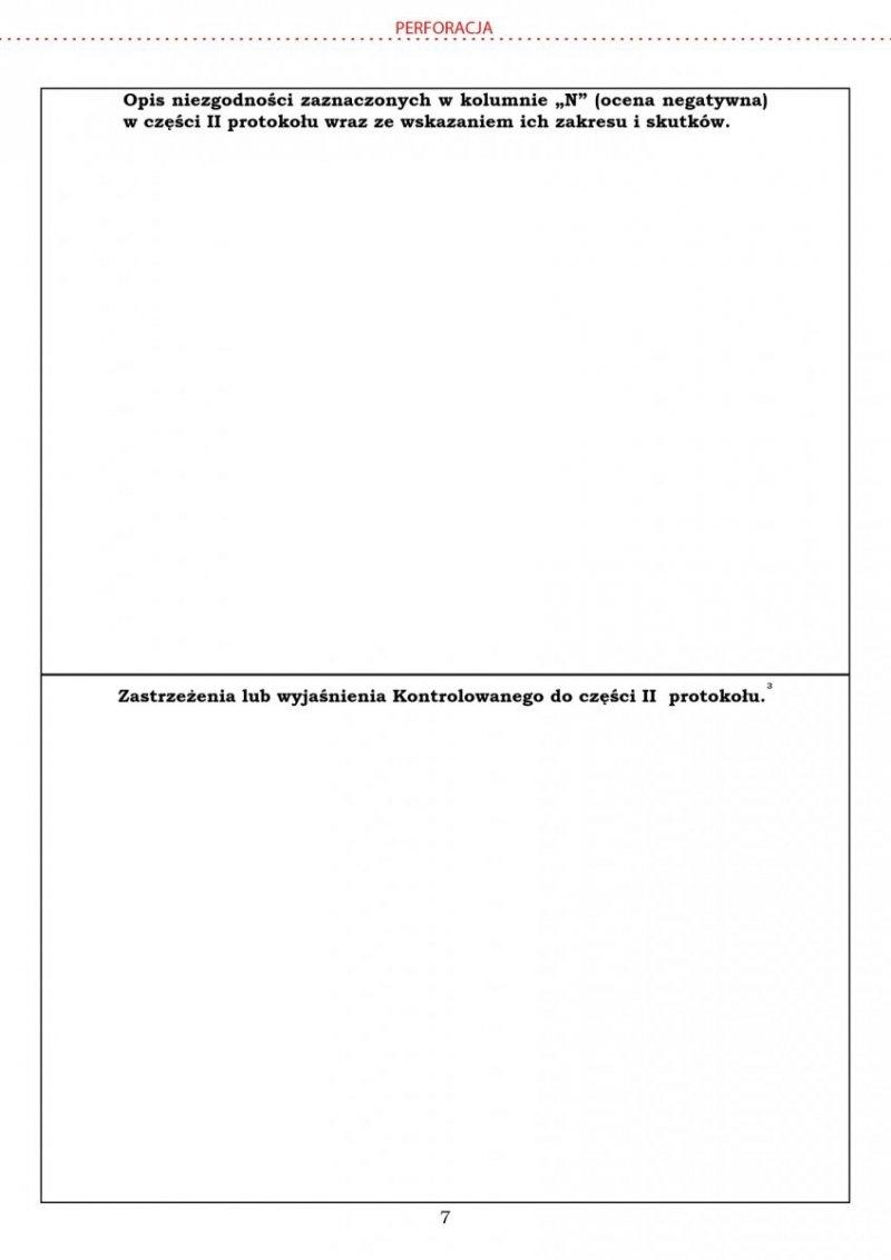 Lista kontrolna SPIWET-ASF2 poza obszarami  - A4