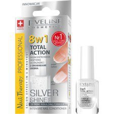 EVELINE NAIL THERAPY PROFESSIONAL Odżywka Do Paznokci Silver Shine 8w1 12ml