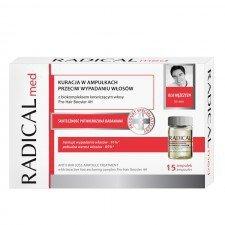 FARMONA RADICAL Med Kuracja W Ampułkach Przeciw Wypadaniu Włosów Dla Mężczyzn 15x5ml