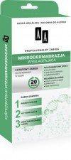 AA Mikrodermabrazja Wygładzająca Profesjonalny Zabieg 5+5+3 ml Skóra wrażliwa i skłonna do alergii
