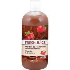 Fresh Juice Kremowy Żel Pod Prysznic Chocolate & Strawberry 500ml