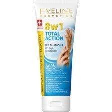 EVELINE Therapy Professional Total Action 8w1 Krem Maska Do Rąk I Paznokci 75 ml