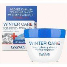 Floslek Winter Care Krem ochronny do twarzy, szyi i rąk 50ml  (Data ważności 11/20)