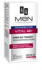 AA Men Advance 40+ Krem Do Twarzy Przeciwzmarszczkowy 50 ml