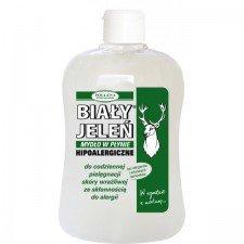 BIAŁY JELEŃ Mydło W Płynie Hipoalergiczne 500ml