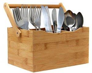 ORGANIZER kuchenny pojemnik BAMBUSOWY pudełko skrzynka