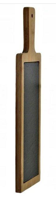 KAMIENNA DESKA TACA DO SERWOWANIA DAŃ ŁUPEK 40 x12