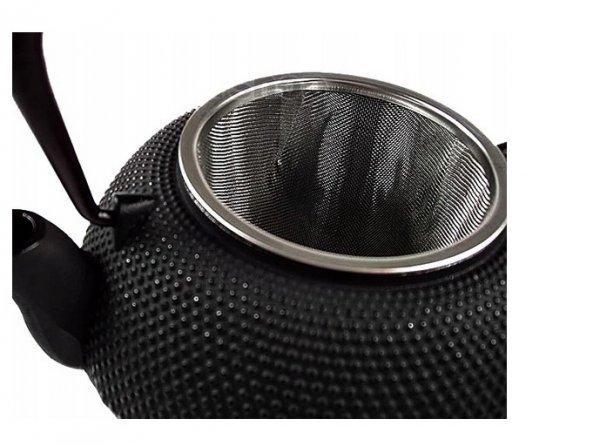 CZAJNIK ŻELIWNY IMBRYK 0,8l zaparzacz do herbaty OUTLET