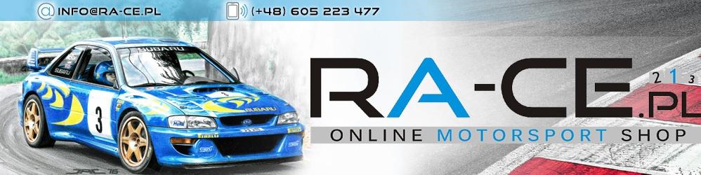 Akcesoria do motorsportu RA-CE.pl, części rajdowe i wyścigowe, motorsport,