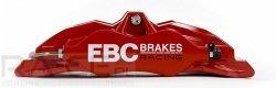 Zestaw hamulcowy BIG BRAKE KIT EBC BBK007RED/2