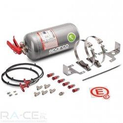System gaśniczy Sparco aluminiowy, mechaniczny 4L