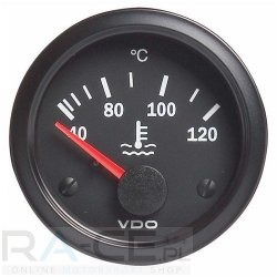 Wskaźnik temperatury płynu VDO 52mm