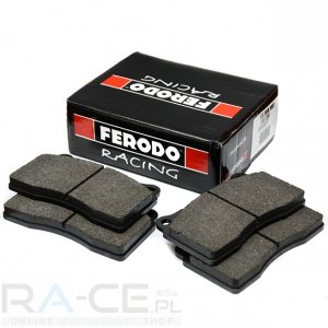 Klocki hamulcowe Ferodo DS3000, Ford Fiesta R2 (asphalt) oś przednia.