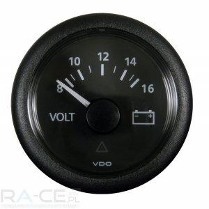 Wskaźnik ładowania voltomierz VDO 52mm