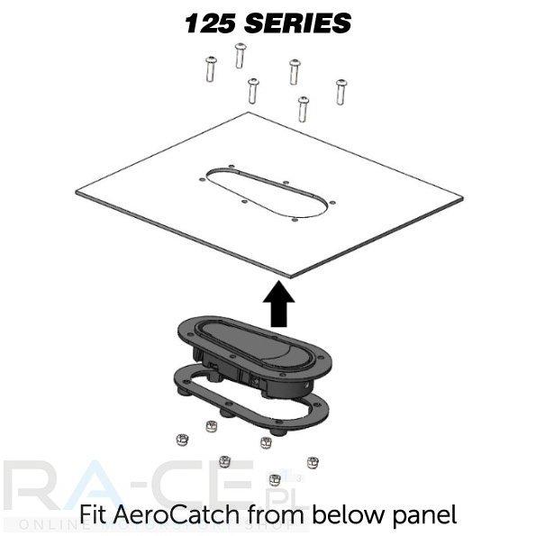 Zapinki AeroCatch 125-2000