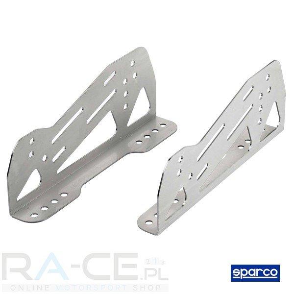 Sparco, Boczne, aluminiowe, duzy zakres regulacji - 5 mm grubosci (FIA)