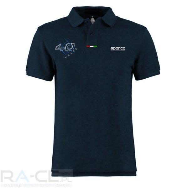 Koszulka polo Sparco 40th